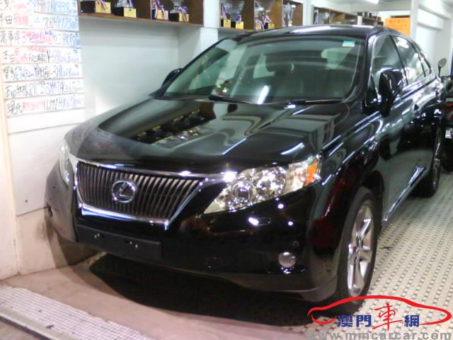 lexus 淩志车        系:rx车        型:rx350 standard车   高清图片
