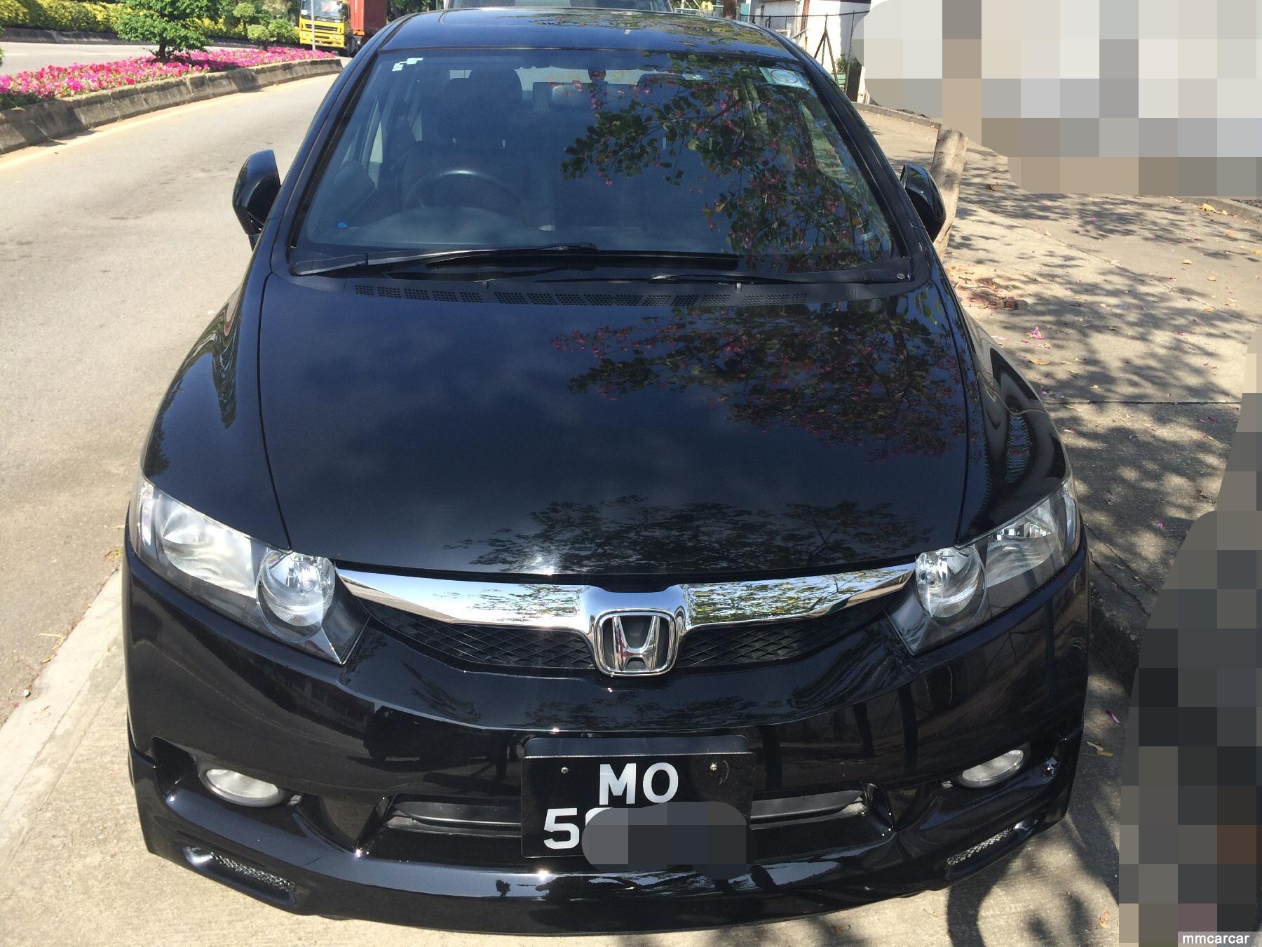 本田vti思域1.8cc黑色mo5特价9万余